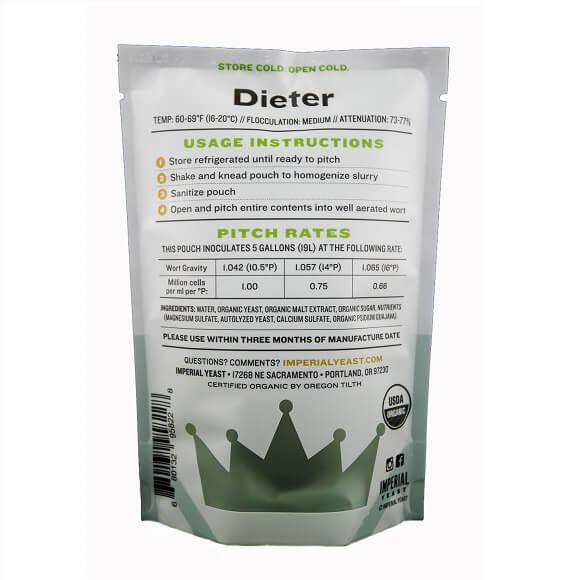Imperial Yeast: Dieter (G03)