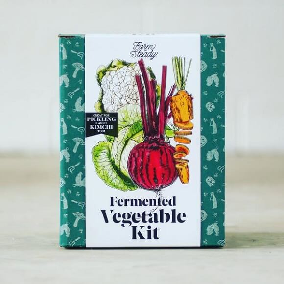 Farm Steady: Fermented Vegetable Kit