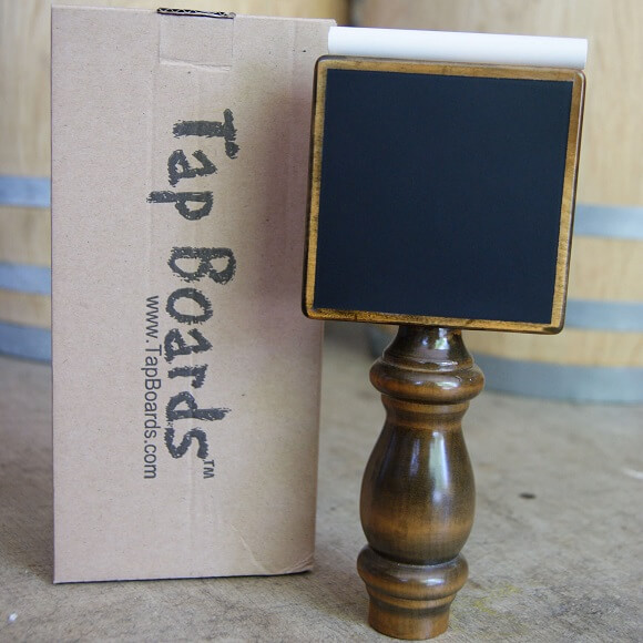 Tap Board: Chalkboard Tap Handle
