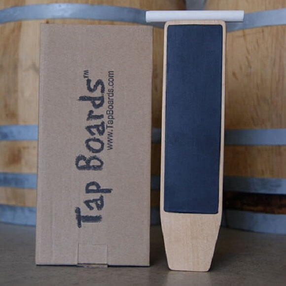 Tap Board: Dual Sided Paddle Chalkboard Tap Handle