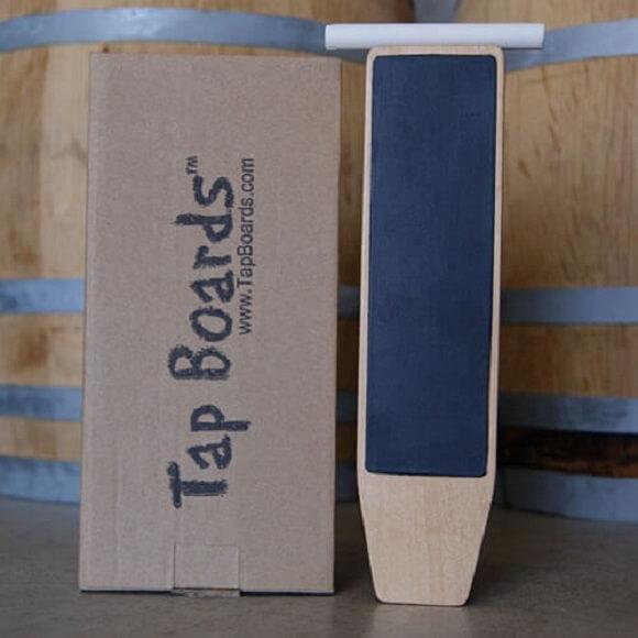 Tap Board: Dual Sided Paddle Chalkboard Tap Handle