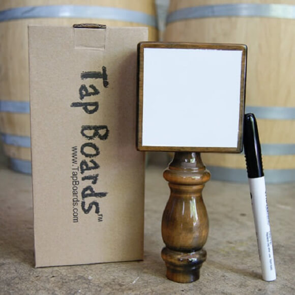 Tap Board: Dry Erase Tap Handle