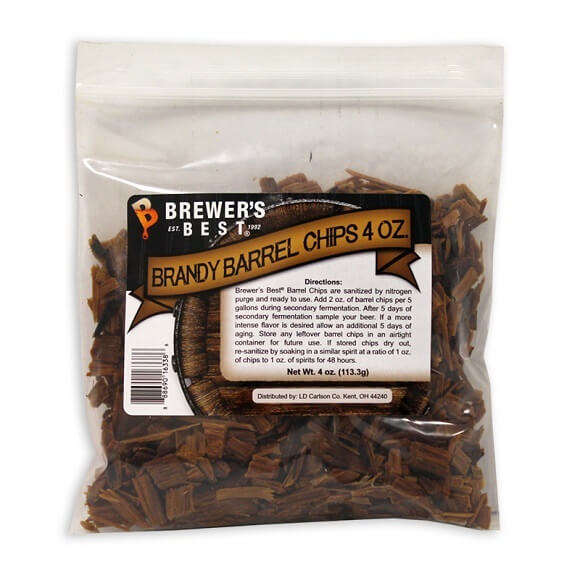 Brandy Barrel Chips 4 oz.