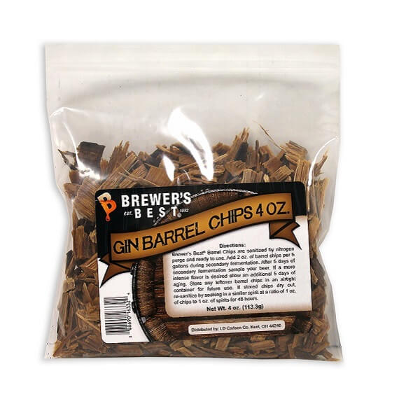 Gin Barrel Chips 4 oz.