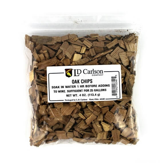 Oak Chips 4 oz.