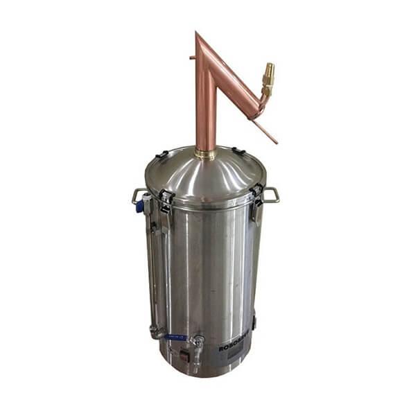 Copper Pot Still Top