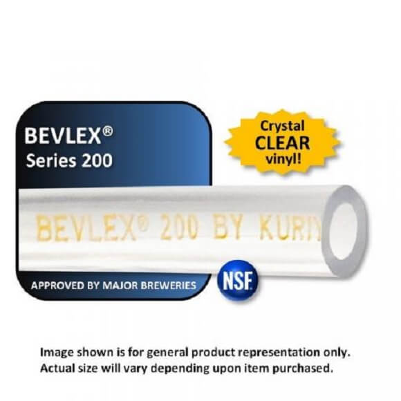 3/8″ ID x 1/2″ OD Bevlex: Thin Wall Transfer Line (per foot)