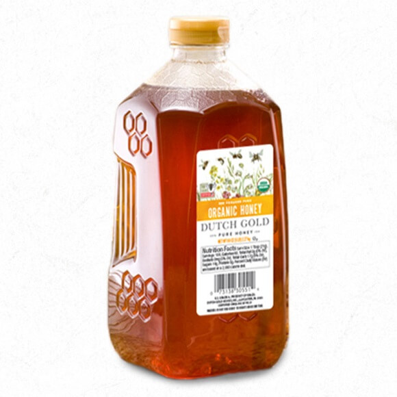 Dutch Gold: Organic Honey 5 lbs