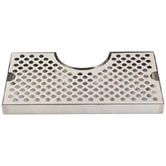 Drip Tray 12″ x 7″ Surface Mount with Cut Out