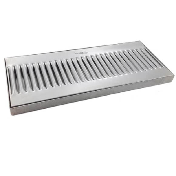 "Drip Tray 14"" x 6"" Surface Mount"