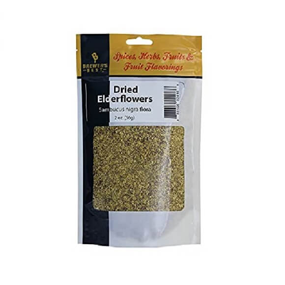 Dried Elderflower 2 oz.