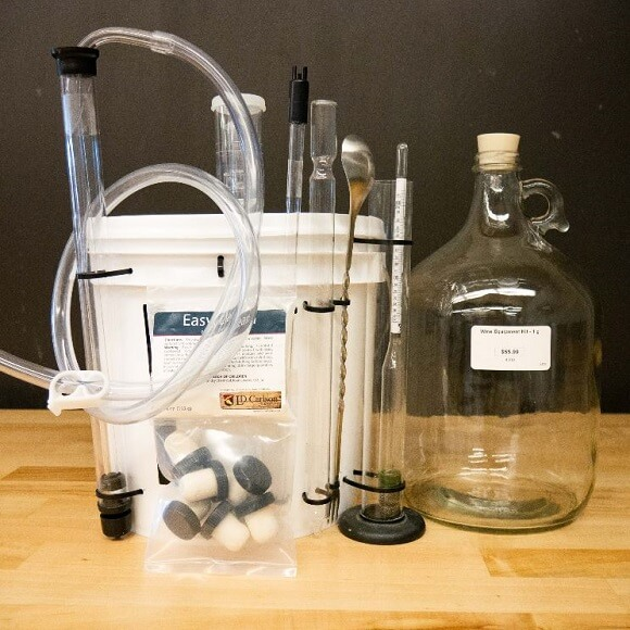 Wine Equipment Kit - 1 Gallon