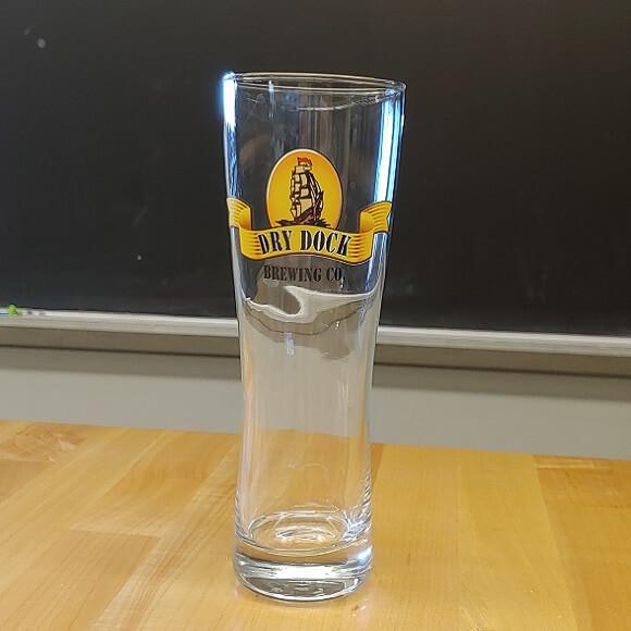 Classic Logo Pilsner Glass