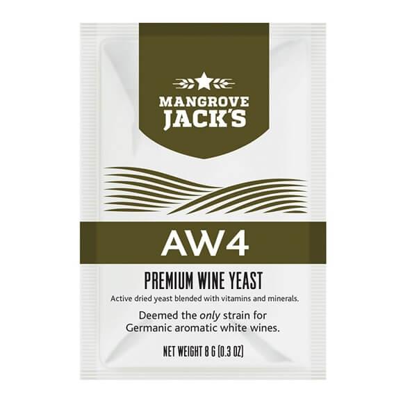 Mangrove Jack's Wine Yeast - AW4 8g