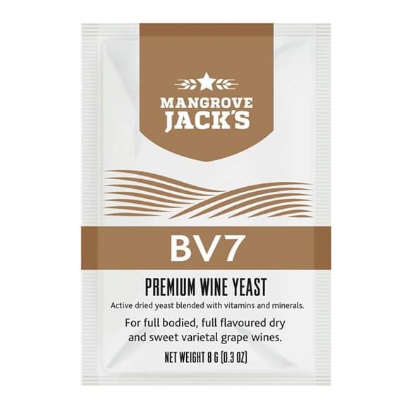Mangrove Jack's Wine Yeast - BV7 8g