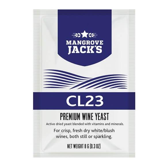 Mangrove Jack's Wine Yeast – CL23 8g