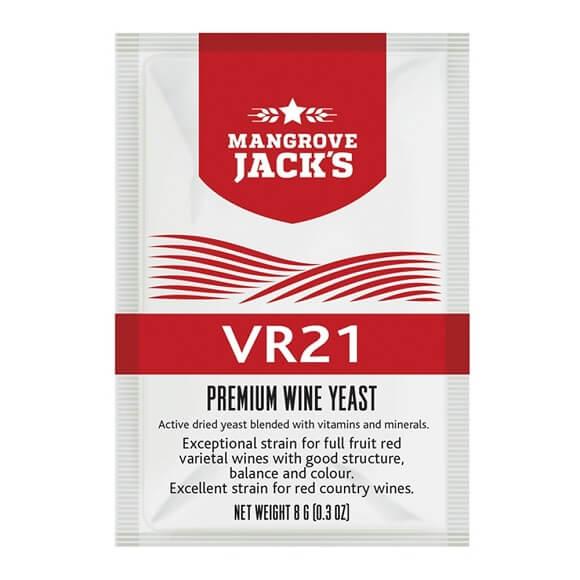 Mangroves Jack's Wine Yeast – VR21 8g