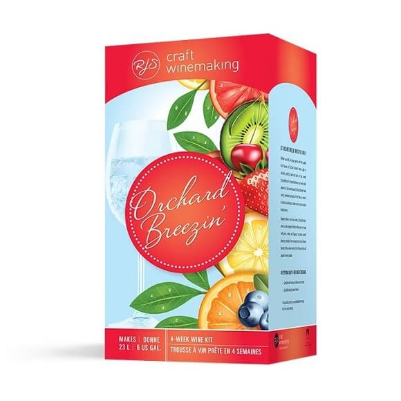 RJS Craft Winemaking: Orchard Breezin' White Sangria (Special Order)