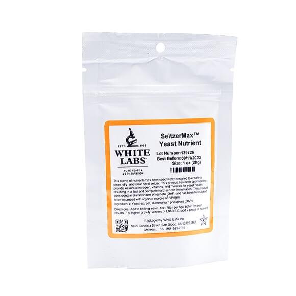 White Labs: WLN2500 - SeltzerMax Yeast Nutrient 1oz.