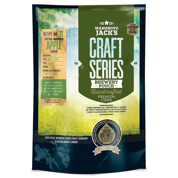 Mangrove Jack's Cider: Dry Hopped Apple Cider Kit